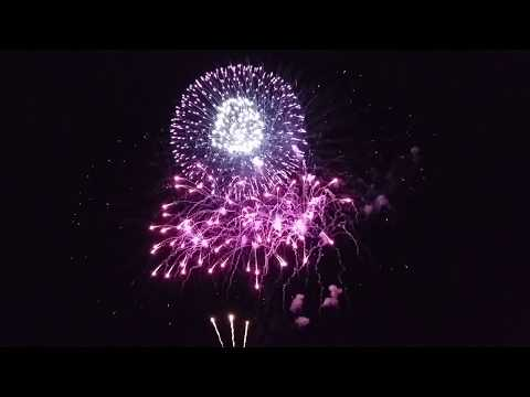 Rostock Cruise Festival Feuerwerk 2