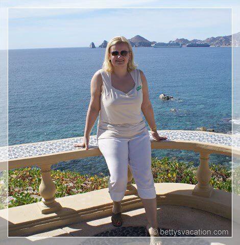 Betty in Cabo San Lucas auf Reisen