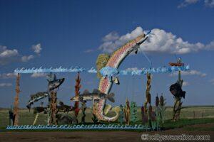 Die Kunst des Gary Greff - der Enchanted Highway in North Dakota
