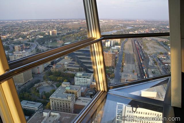 Blick vom Calgary Tower