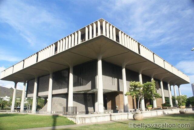 State Capitol Hawaii in Honolulu