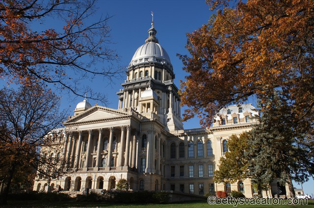 State Capitol Illinois in Springfield