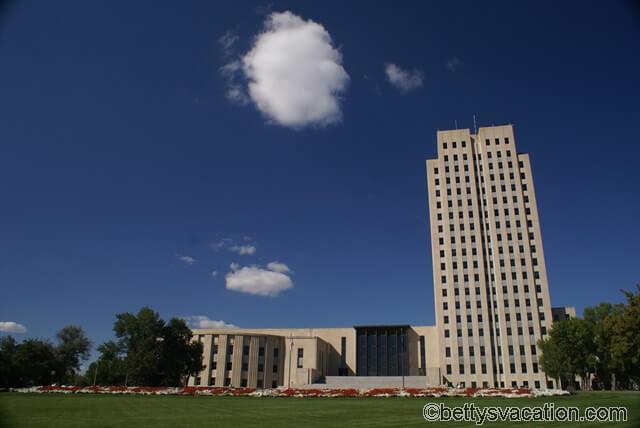 State Capitol North Dakota in Bismarck