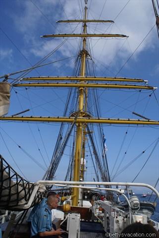 Mast der Gorch Fock