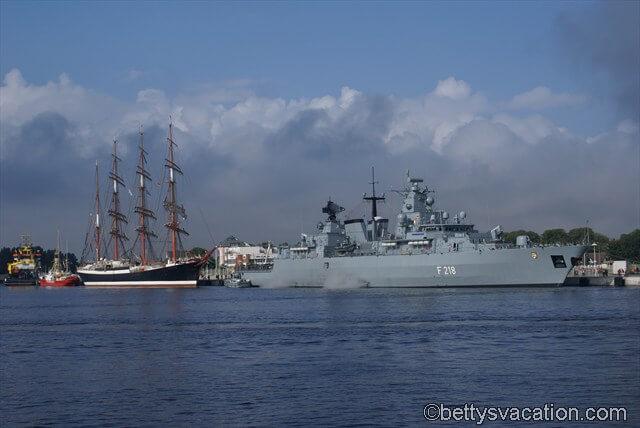 Mecklenburg-Vorpommern & russisches Segelschiff