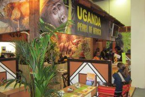 Stand von Uganda
