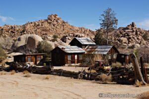 Ein Zuhause in der Wüste - Keys Ranch, Joshua Tree National Park, Kalifornien