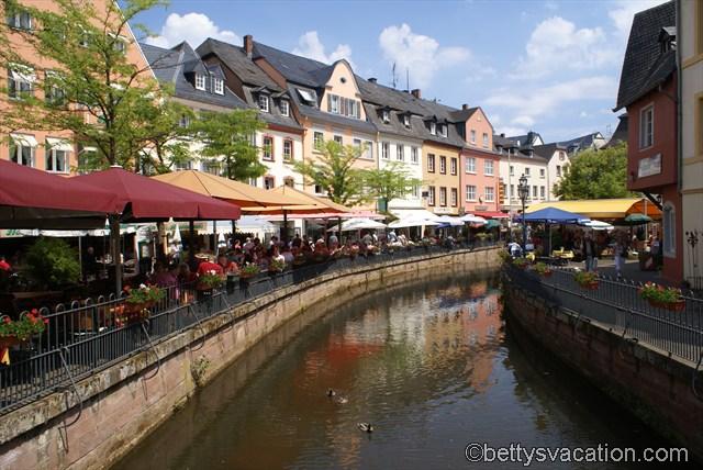 Innenstadt von Saarburg