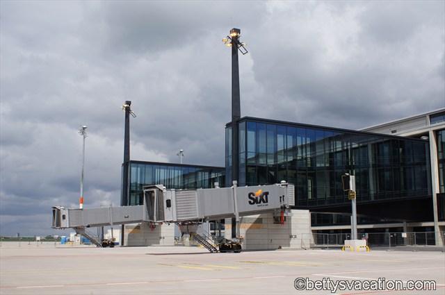 Fluggastbrücken am Hauptterminal