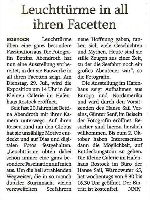 ROSTOCK Zeitung 1