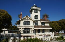 Point Fermin Lighthouse, San Pedro, Kalifornien