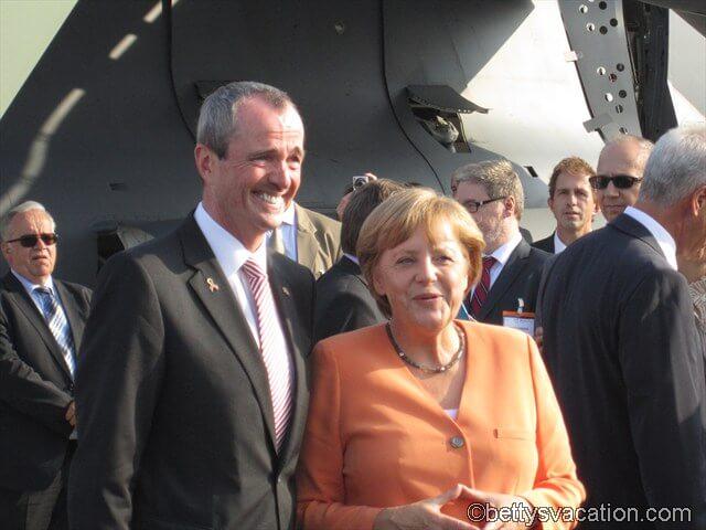 US-Botschafter & Kanzlerin