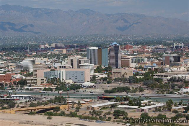 Blick auf Tucson