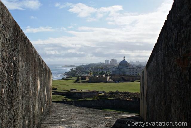 Blick auf San Juan