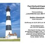 Leuchttürme - Meine neue Ausstellung in Gräfenhainichen