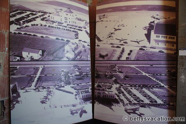 Historisches Luftbild des Hobby Airport