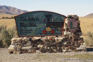 Mit dem Zug von Küste zu Küste - Golden Spike National Monument, Utah