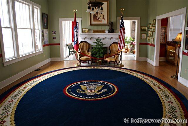 Clinton First Home