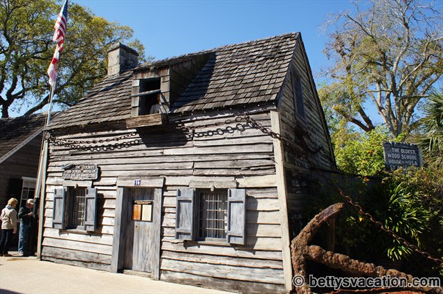 Oldest Wood School House