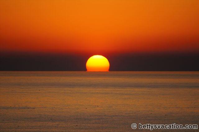 Sonnenaufgang in Orange Beach