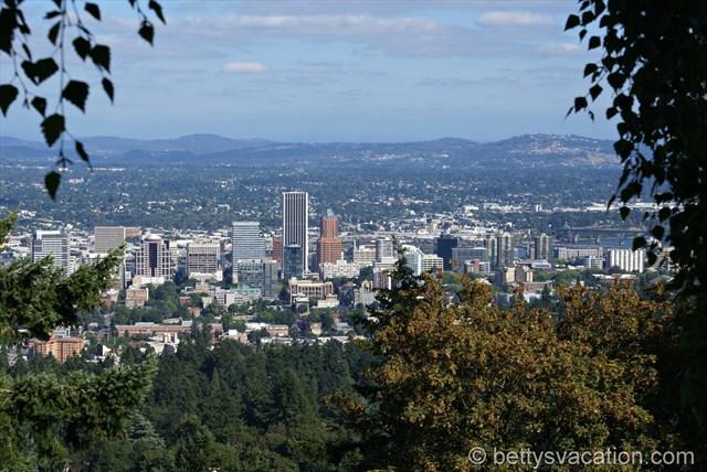 Blick auf Portland
