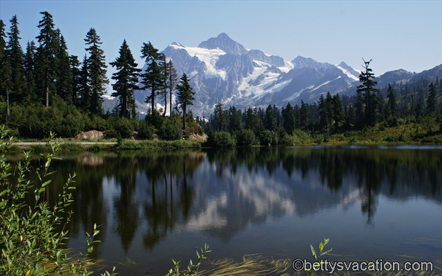 Mount Shuksan und Picture Lake