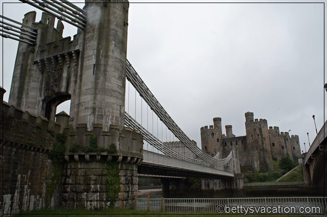 Conwy Castle & Suspension Bridge