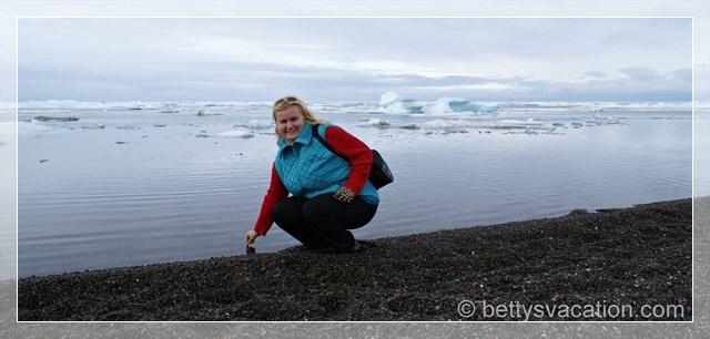 ich am Nordpolarmeer