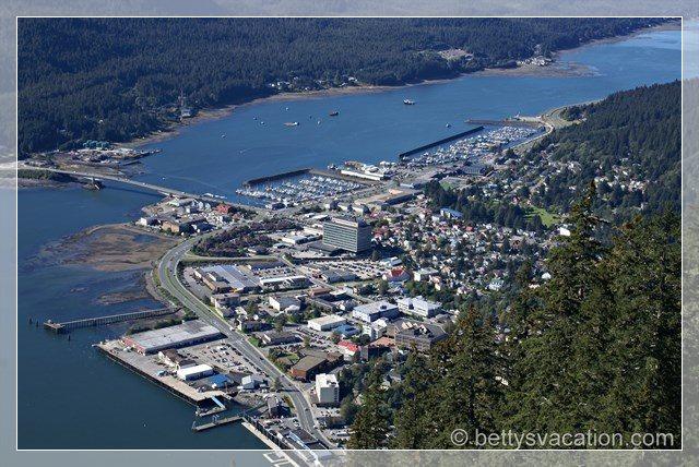 Juneau aus der Luft 1