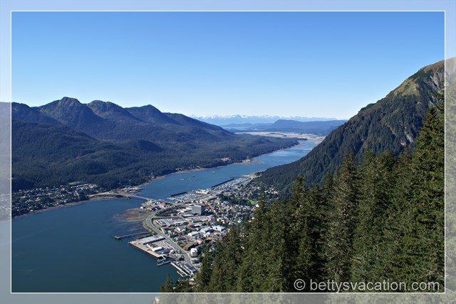 Juneau aus der Luft 2