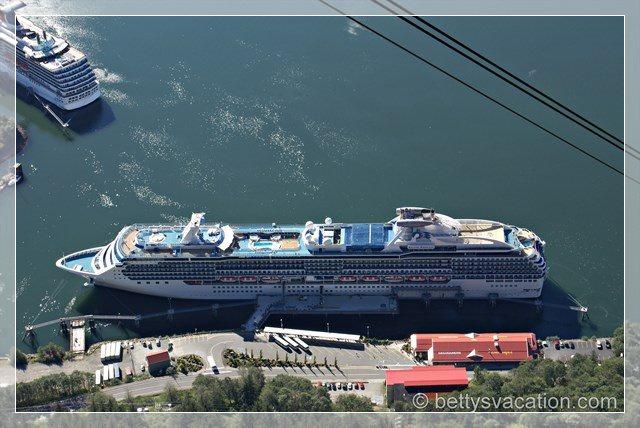 Juneau aus der Luft 3