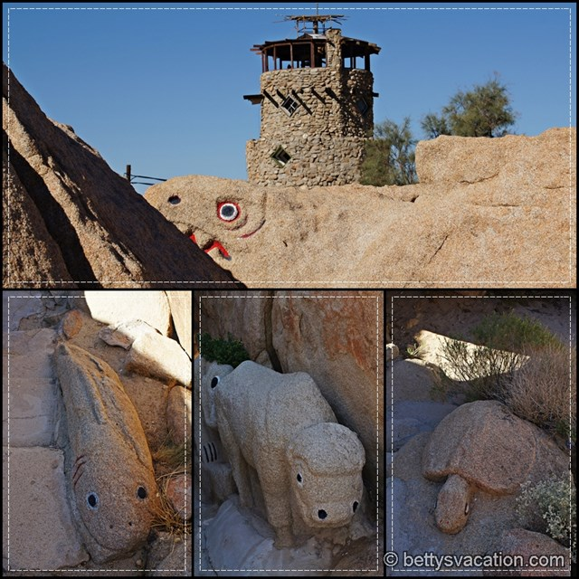 Desert View Tower Collage 3