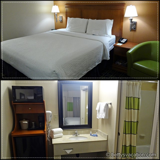 Fairfield Inn Ontario Collage