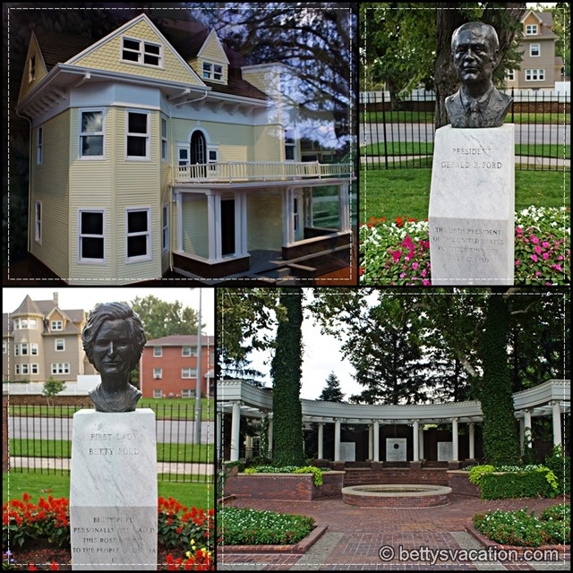 Gerald Ford Birthplace Collage