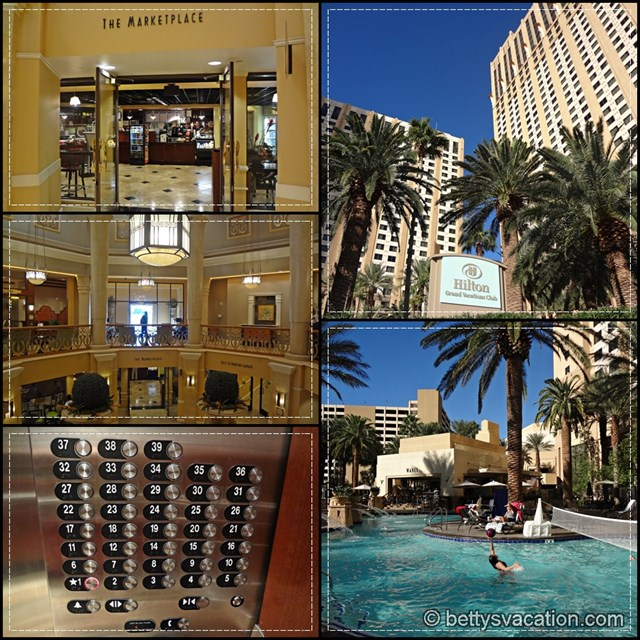Hilton Grand Vacation Collage 2