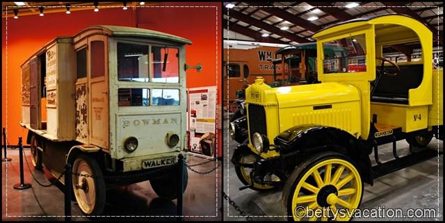Iowa 80 Trucking Museum Collage 4