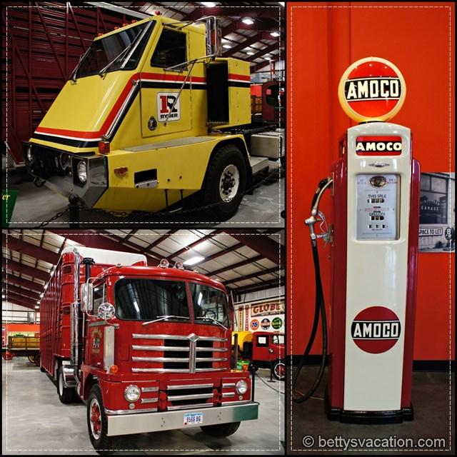 Iowa 80 Trucking Museum Collage 5