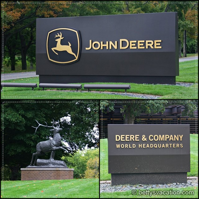 John Deere Headquarter Collage