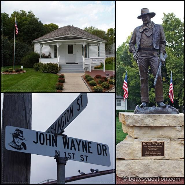 John Wayne Collage