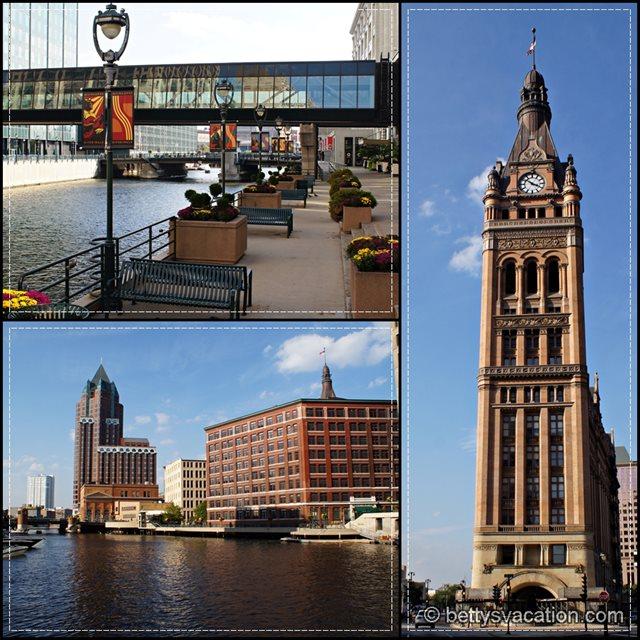 Milwaukee Riverwalk Collage 2