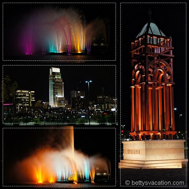 Omaha by night