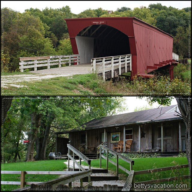 Rosewell Covered Bridge Collage