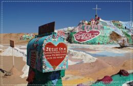 Salvation Mountain & Slab City, Kalifornien