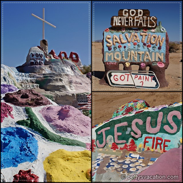 Salvation Mountain Collage 1