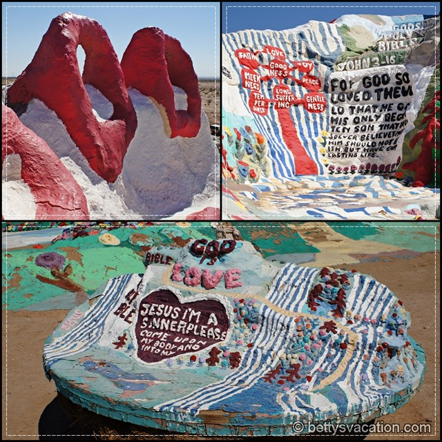 Salvation Mountain Collage 4