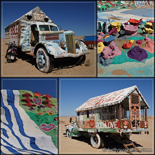 Salvation Mountain Collage 5