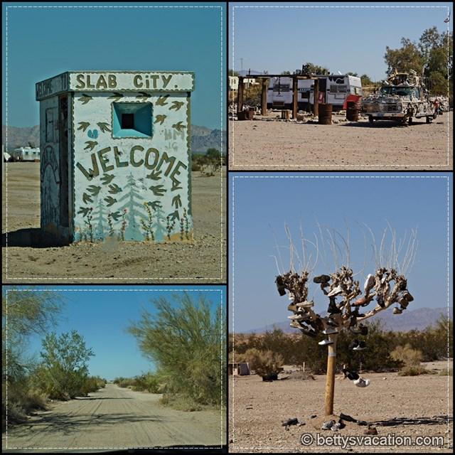 Slab City Collage