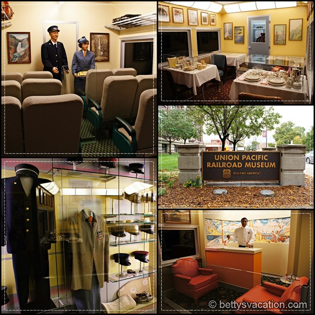 Union Pacific Railway Museum Collage
