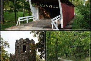 Winterset City Park Collage