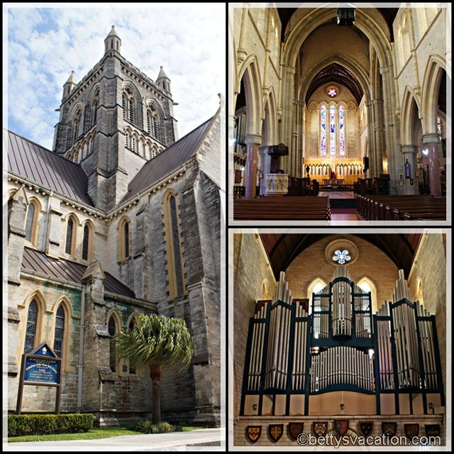 Collage Bermuda Cathedral